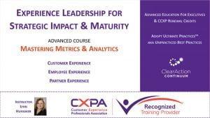 Advanced CX Metrics