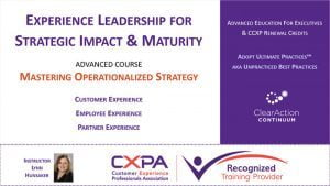 Advanced CX Strategy