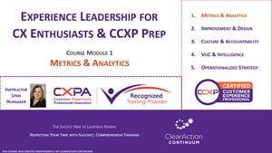 CCXP Prep Course