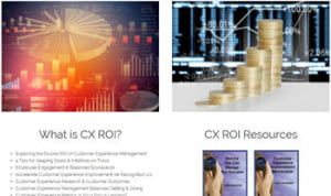 customer experience roi resources articles