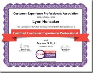 CCXP Certification