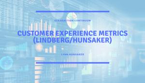 Customer Experience Metrics (LindbergHunsaker)