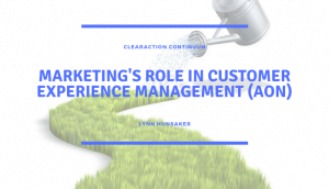 Marketing's Role in Customer Experience Management (Aon)