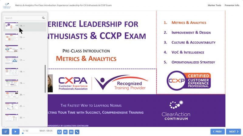 CCXP Training