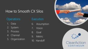 smooth silos customer experience