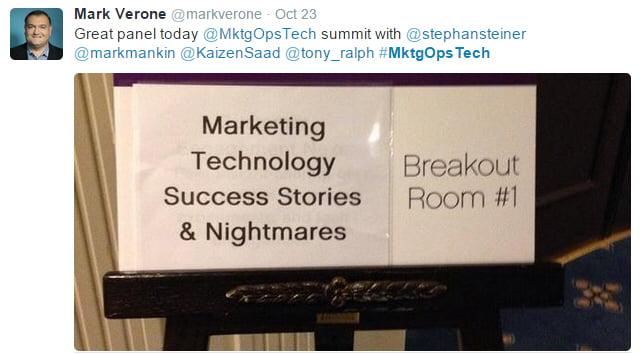 marketing operations technology