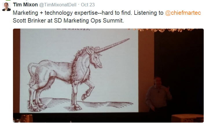 marketing ops unicorn