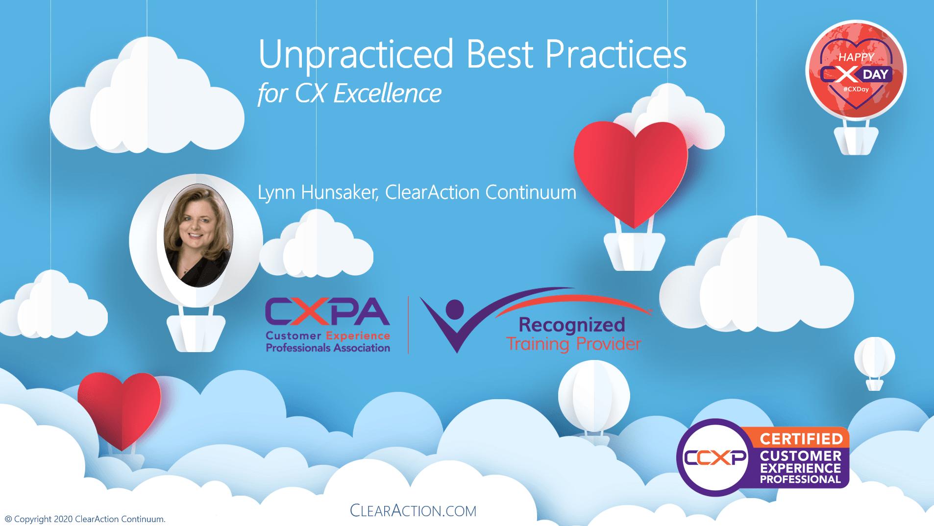Unpracticed Best Practices