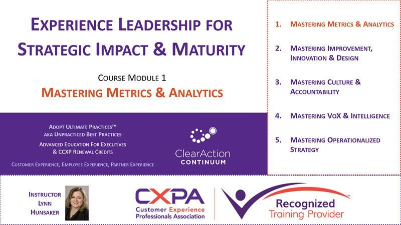 Experience Leader