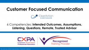 Customer Centricity Training